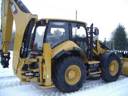 Понижение высоты кабины тракторов CAT 434F для шахтных нужд (3 машины)